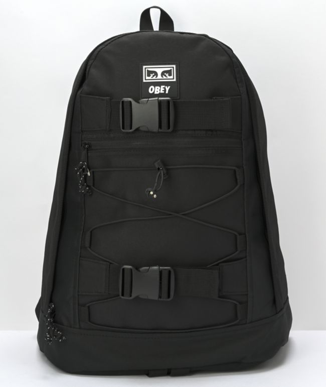 Obey Conditions Black Backpack