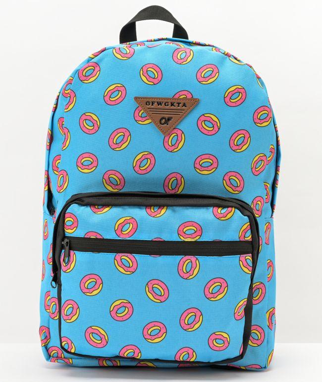 Odd Future Donut All Over Print mochila azul