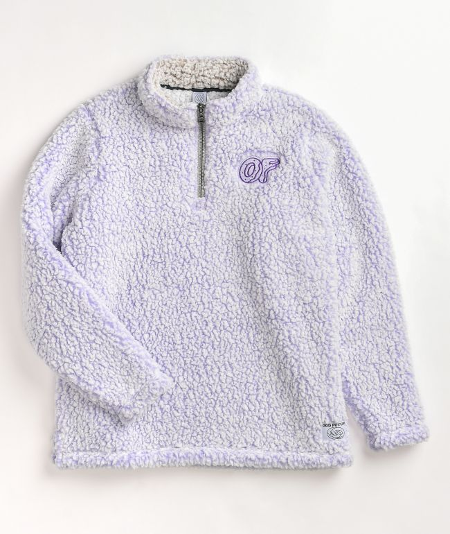 Odd Future Purple Wubby Fleece Jacket