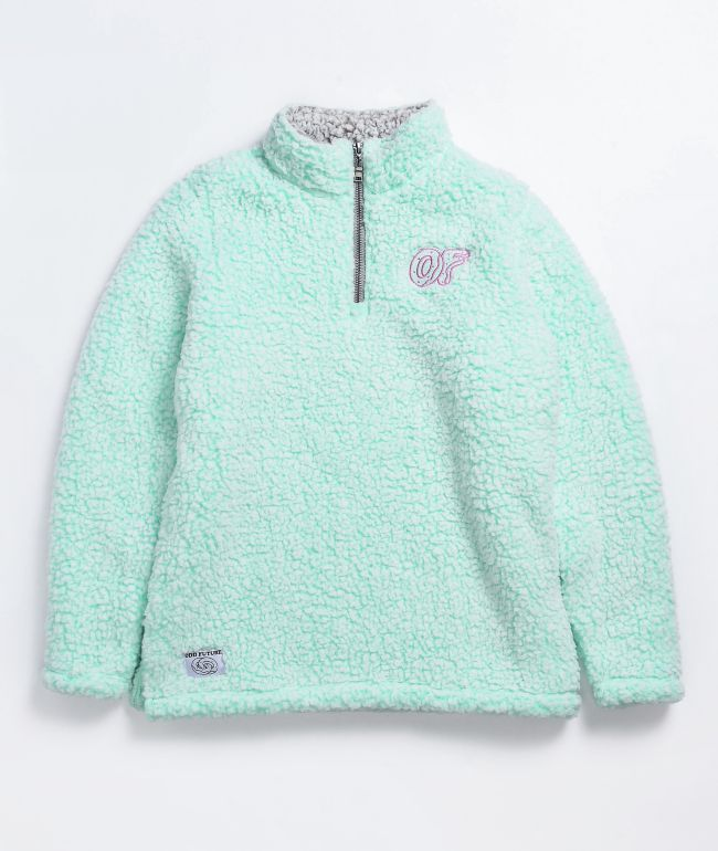 Odd Future Wubby Mint Quarter-Zip Jacket