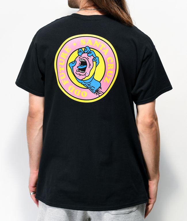 Odd Future x Santa Cruz Hand Dot Black T-Shirt