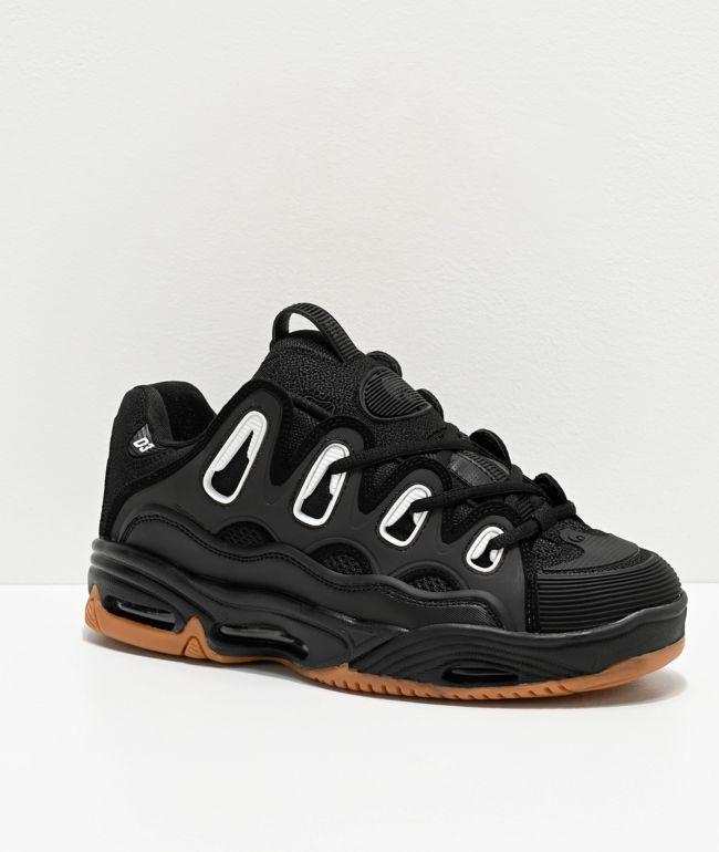 Osiris D3 2001 Black \u0026 Gum Skate Shoes