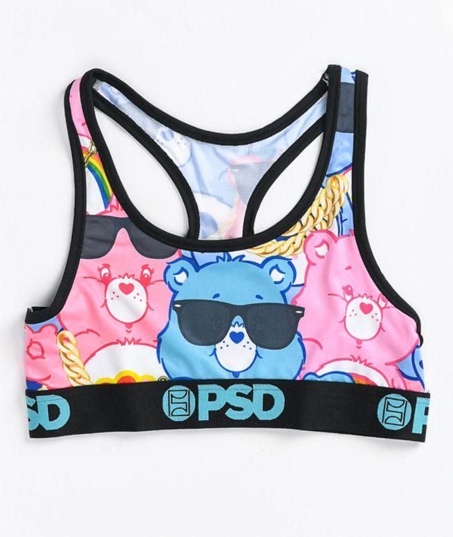 PSD Don't Care Bears Sports Bra
