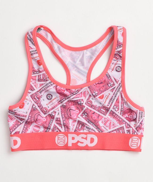 PSD Pink Dollars Sports Bra