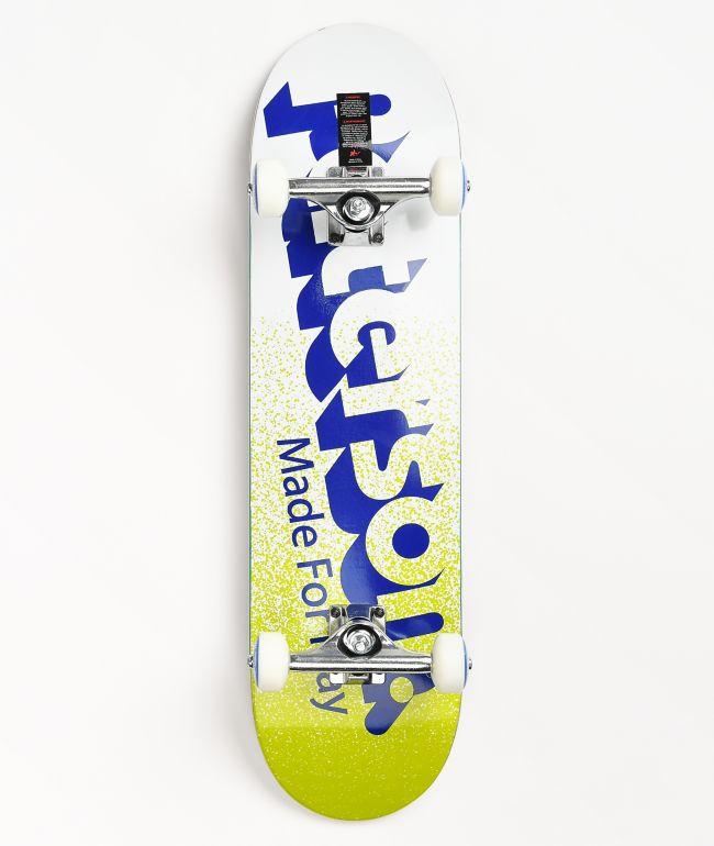 "Paterson 3D Logo 8.0"" Skateboard Complete"