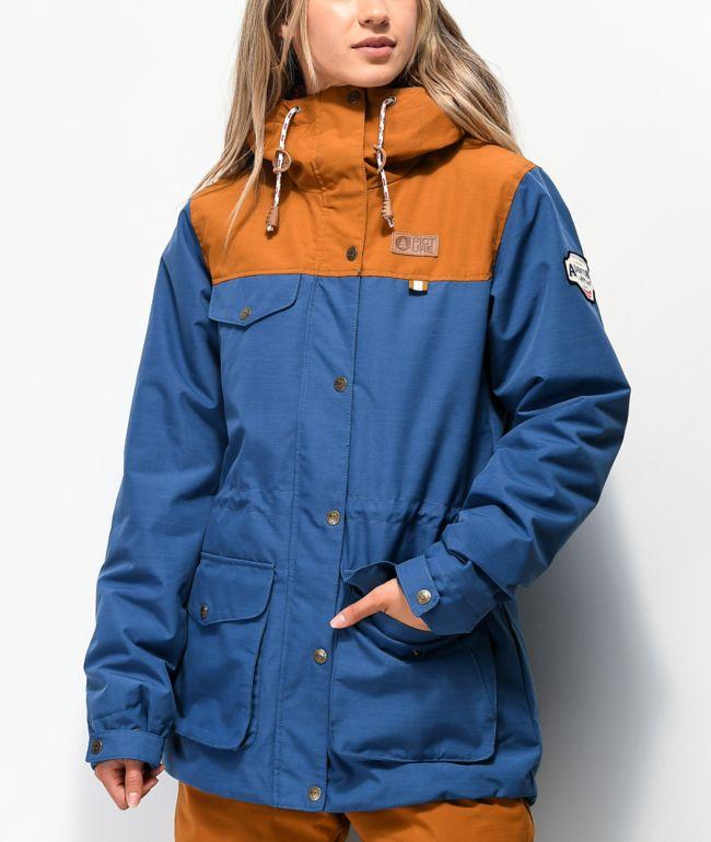 Picture Organic Kate Blue 10K Snowboard Jacket