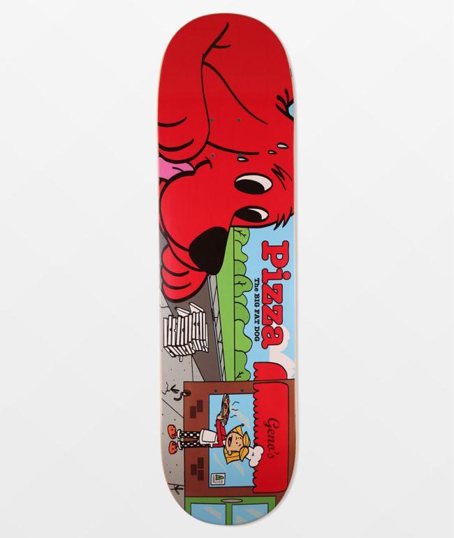 """Pizza Skateboard Deck BBQ 8.375/"""""""