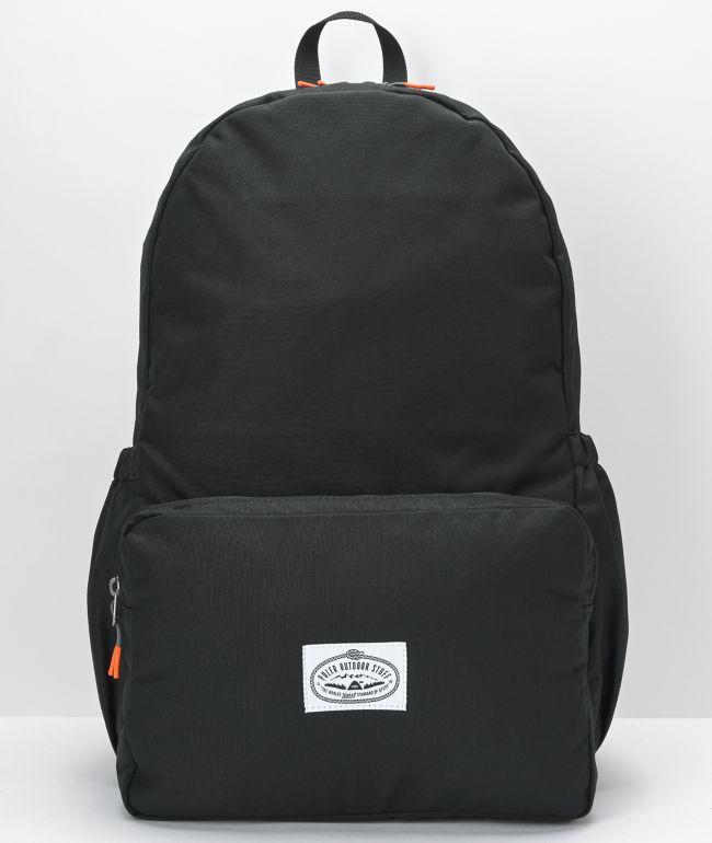 Poler Classic Daytripper Black Backpack