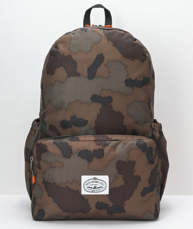 Poler Classic Daytripper Furry Camo Backpack