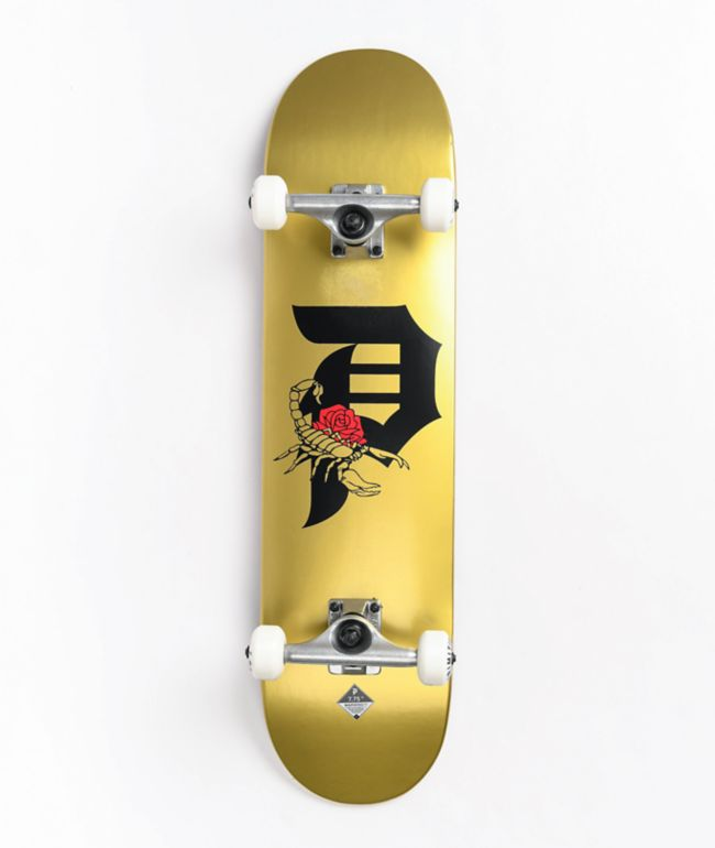 "Primitive Dirty P Scorpion 7.75"" Skateboard Complete"