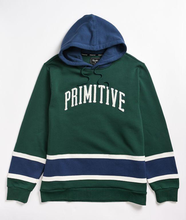 Primitive Ninety Nine Green Hoodie