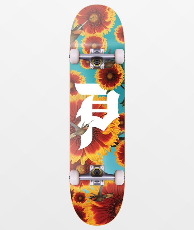 "Primitive Sunflower II 8.12"" Skateboard Complete"
