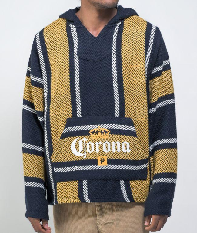 Primitive x Corona Baja Poncho Hoodie