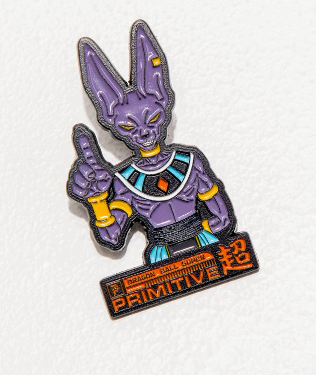 Primitive x Dragon Ball Super Beerus Enamel Pin