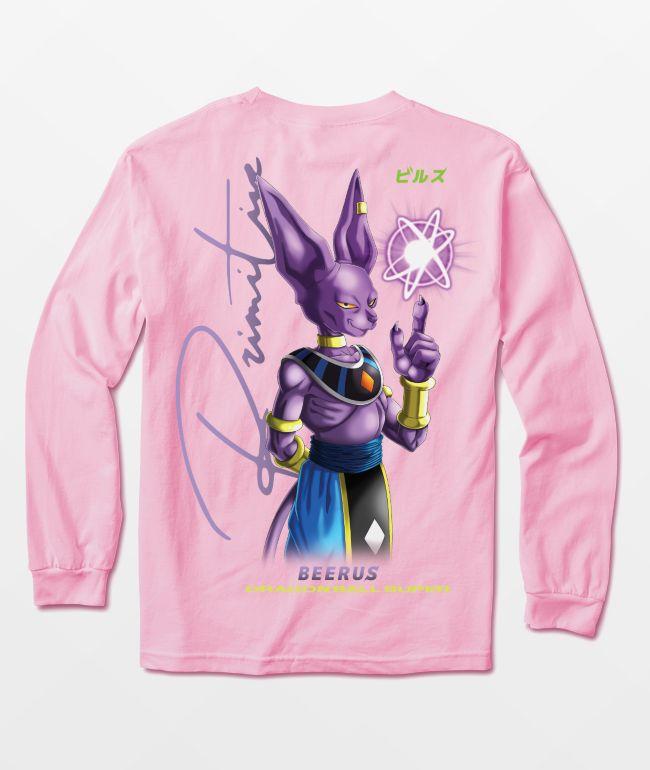 Primitive x Dragon Ball Super Beerus Orb Long Sleeve T-Shirt