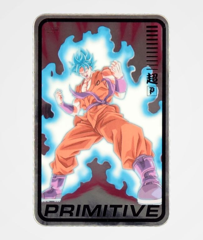 Primitive x Dragon Ball Super Champ pegatina