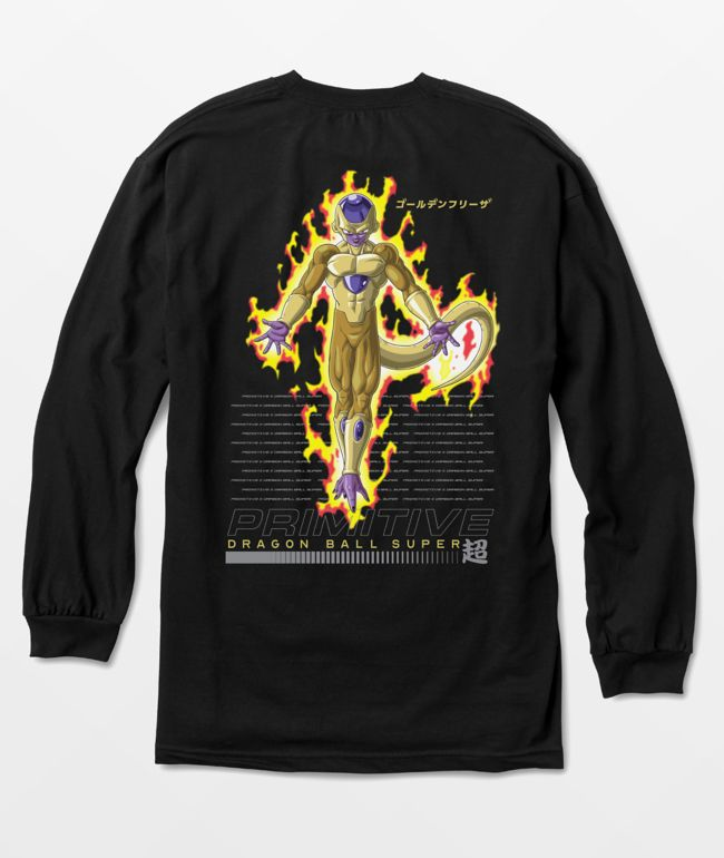 Primitive x Dragon Ball Super Frieza Black Long Sleeve T-Shirt