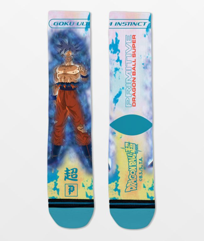 Primitive x Dragon Ball Super Goku Ultra Instinct calcetines