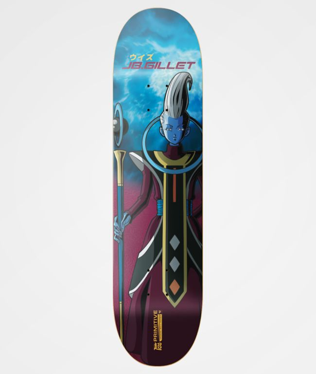 "Primitive x Dragon Ball Super JB Gillet Whis 8.3"" Skateboard Deck"