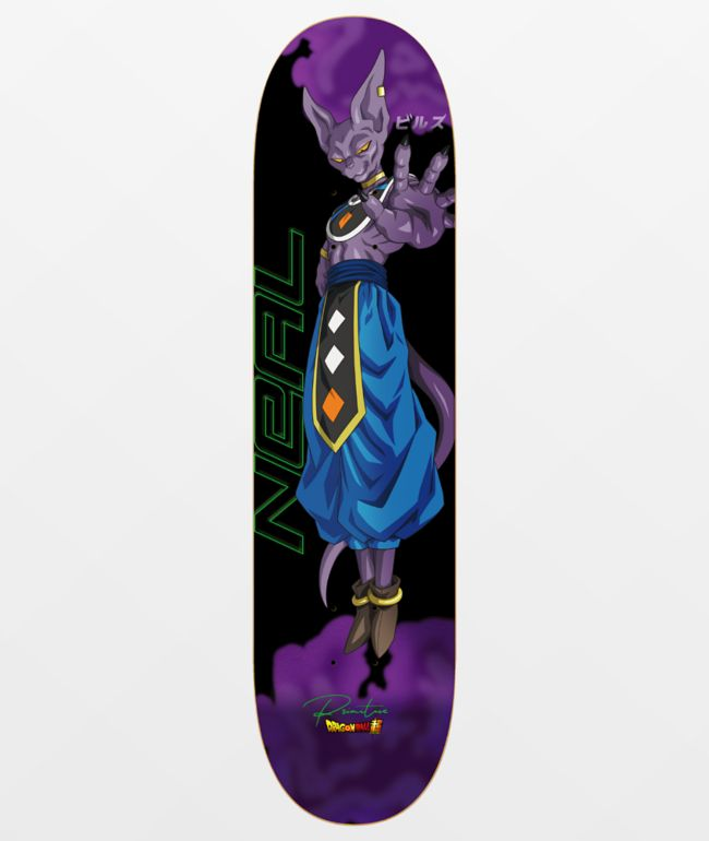 "Primitive x Dragon Ball Super Neal Beerus 8.12"" Skateboard Deck"
