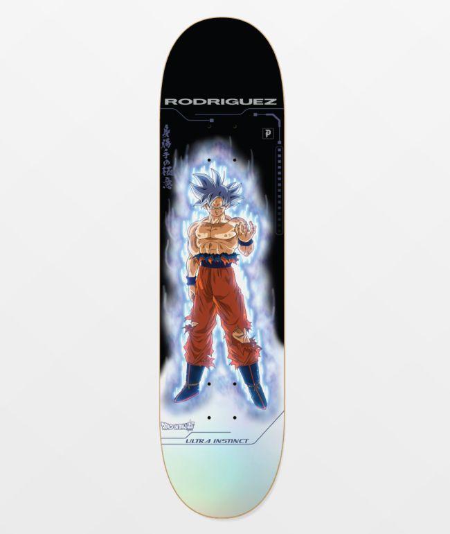 "Primitive x Dragon Ball Super PRod Ultra Instinct 8.25"" Skateboard Deck"