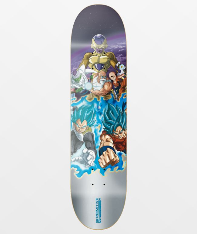 "Primitive x Dragon Ball Super Resurrection 8.12"" Skateboard Deck"