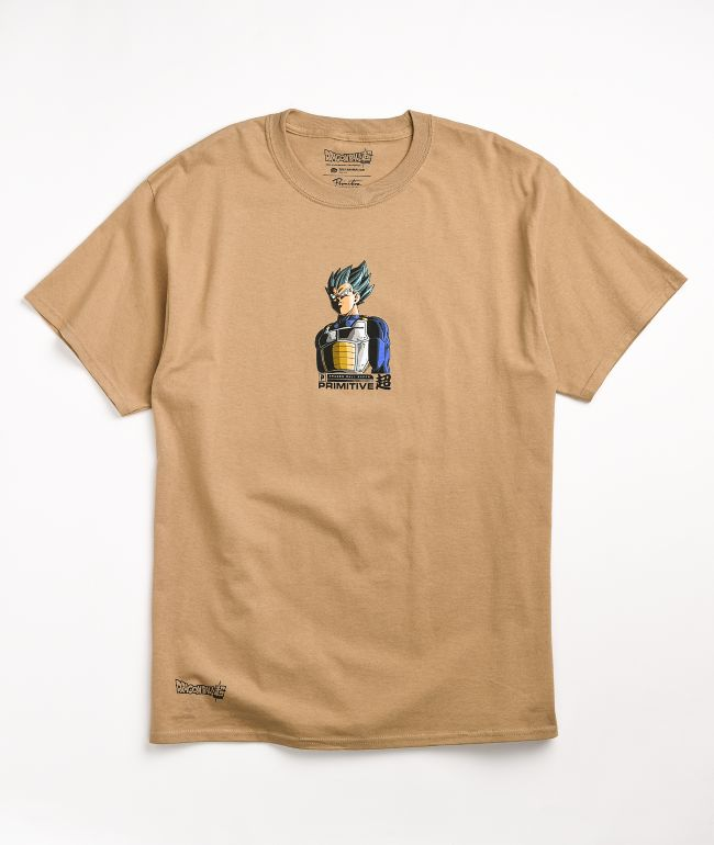 Primitive x Dragon Ball Super Shadow Vegeta Natural T-Shirt