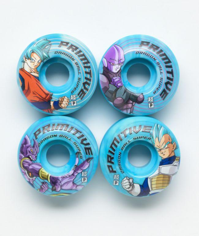 Primitive x Dragon Ball Super Survival Team 52mm 101a Skateboard Wheel