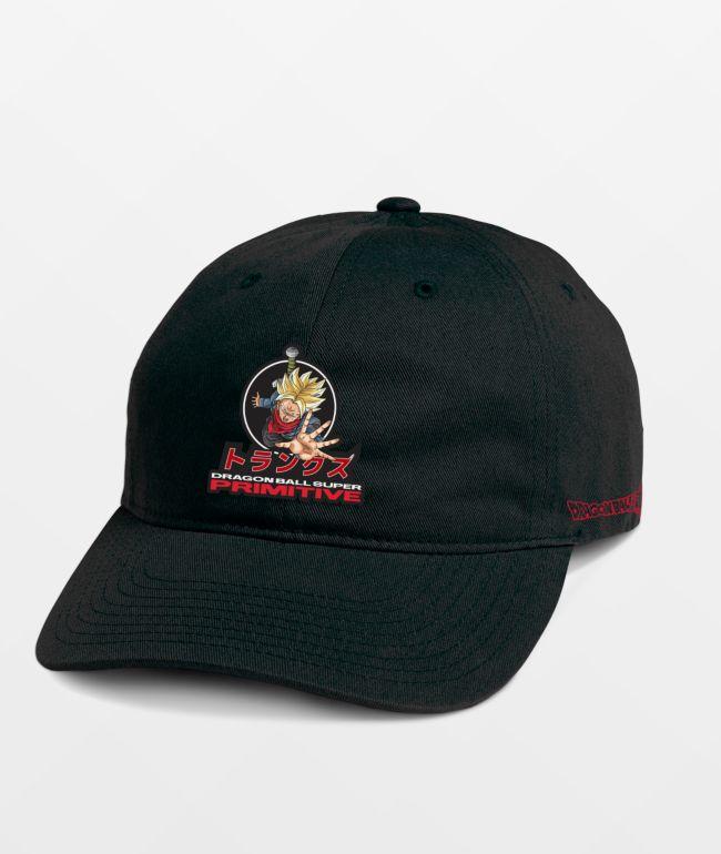 Primitive x Dragon Ball Super Trunks Phases Black Strapback Hat