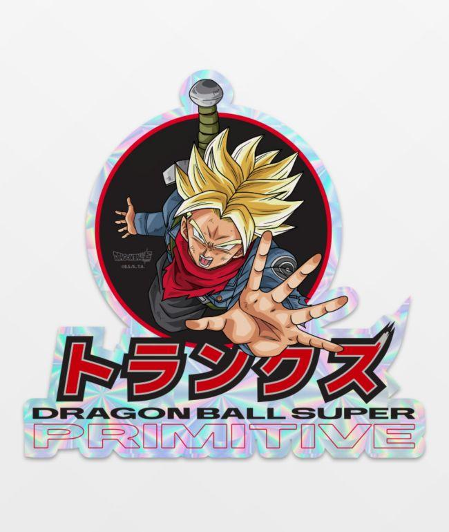 Primitive x Dragon Ball Super Trunks Phases Sticker