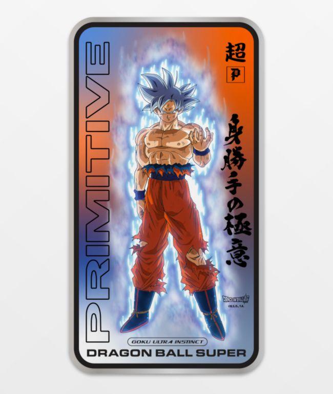 Primitive x Dragon Ball Super Ultra Instinct pegatina