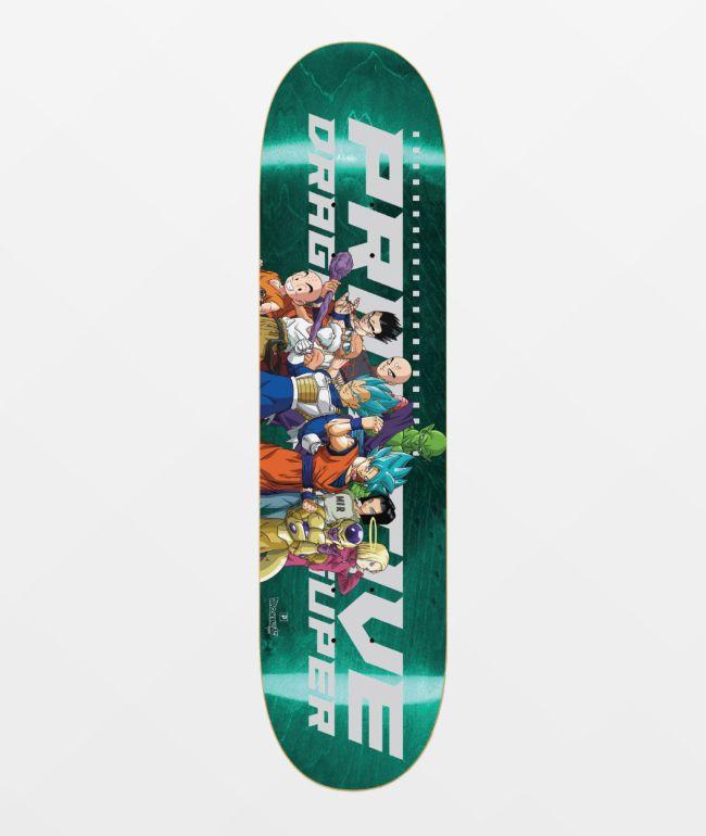 "Primitive x Dragon Ball Super Universal Survival 8.12"" Skateboard Deck"