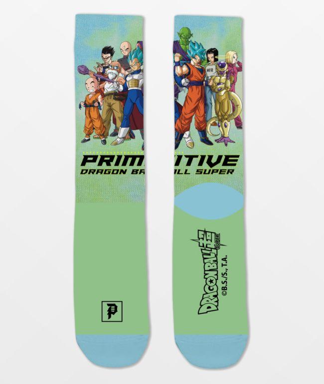 Primitive x Dragon Ball Super Universal Survival Crew Socks