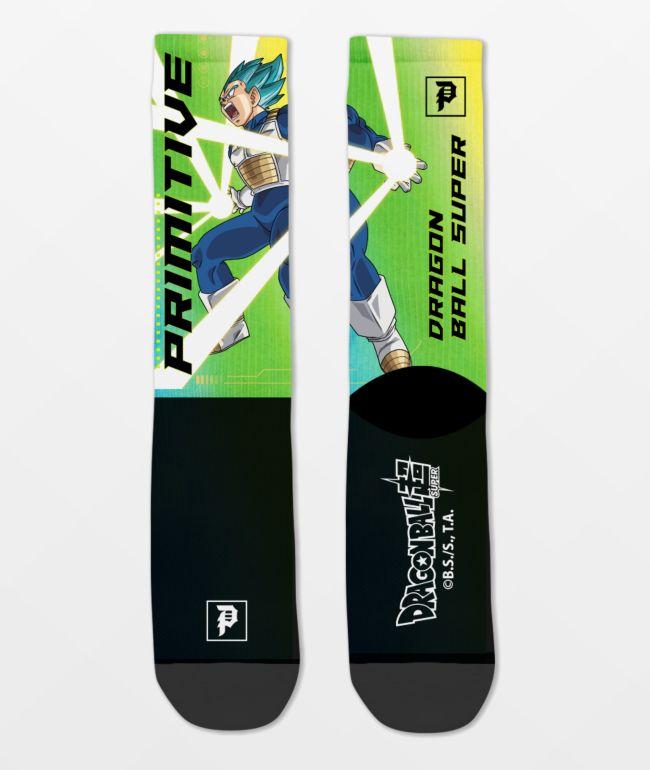 Primitive x Dragon Ball Super Vegeta Rage calcetines