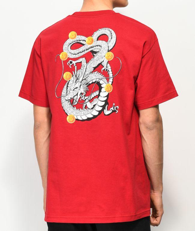 Primitive x Dragon Ball Z Shenron Nuevo Cardinal Red T-Shirt