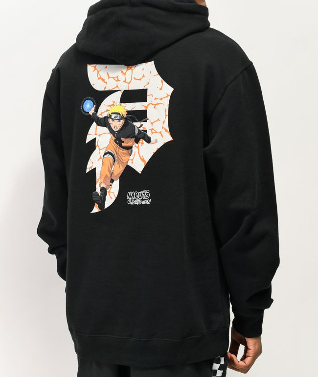 Primitive x Naruto Dirty P Black Hoodie