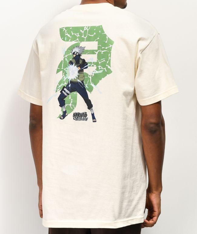 Primitive x Naruto Kakashi Dirty P Cream T-Shirt