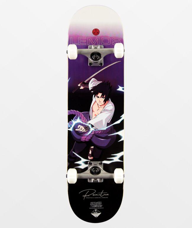 Uchiha Itachi Sasuke Naruto Longboard Skateboard 108cm * 23cm Anf/änger Tanzbrett M/ännliche und weibliche Erwachsene Jugendliche Kinder Anime-Scooter Naruto