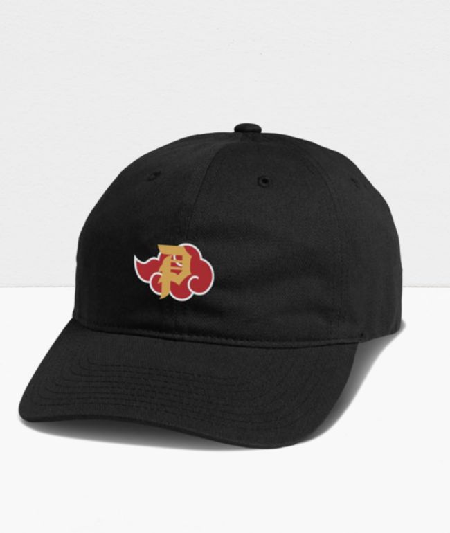 Primitive x Naruto Shippuden II Akatsuki Black Strapback Hat