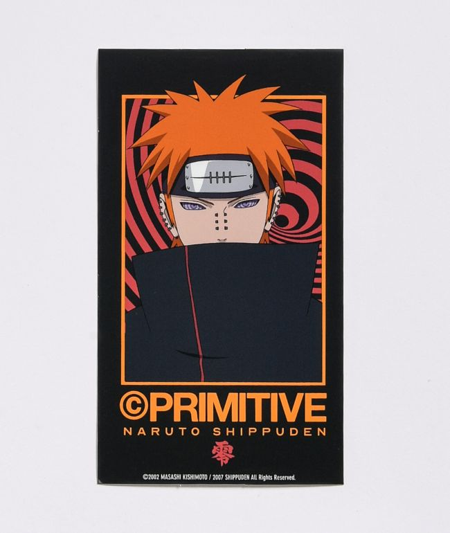 Primitive x Naruto Shippuden II Know Pain Sticker