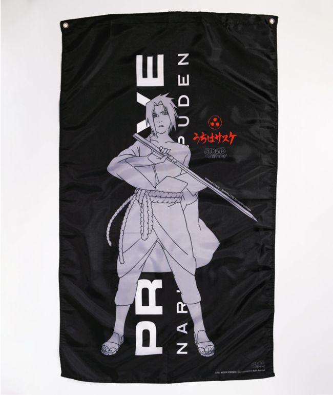 Primitive x Naruto Shippuden Sasuke Blade Banner