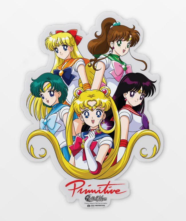 Primitive x Sailor Moon Team Sticker