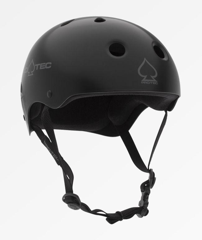 Pro-Tec Classic Matte Black Skate Helmet