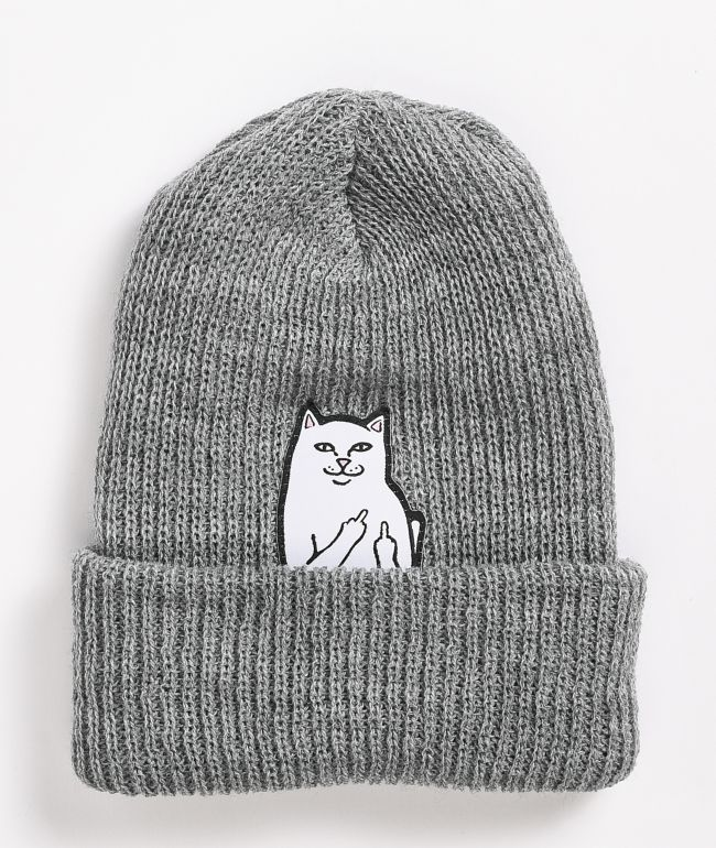 RIPNDIP Lord Nermal Heather Beanie