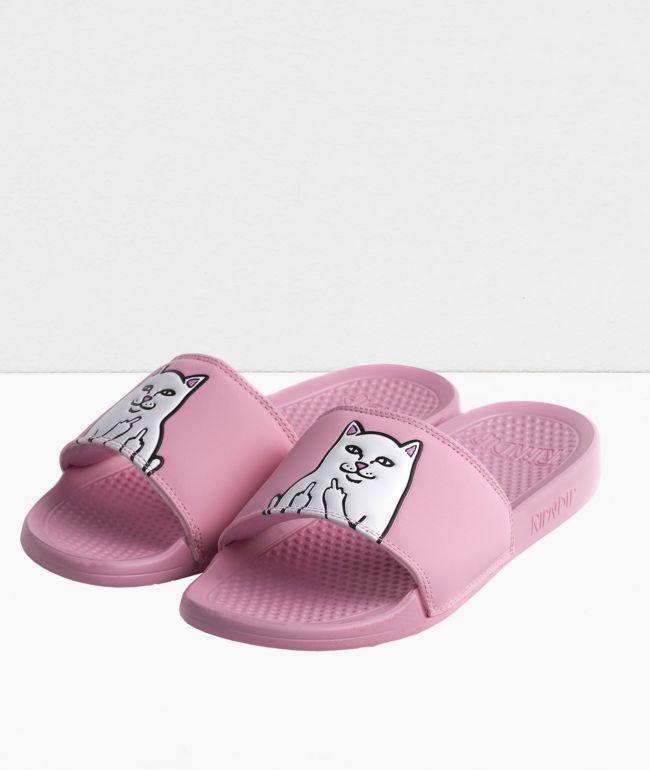 RIPNDIP Lord Nermal Pastel Pink Slide Sandals