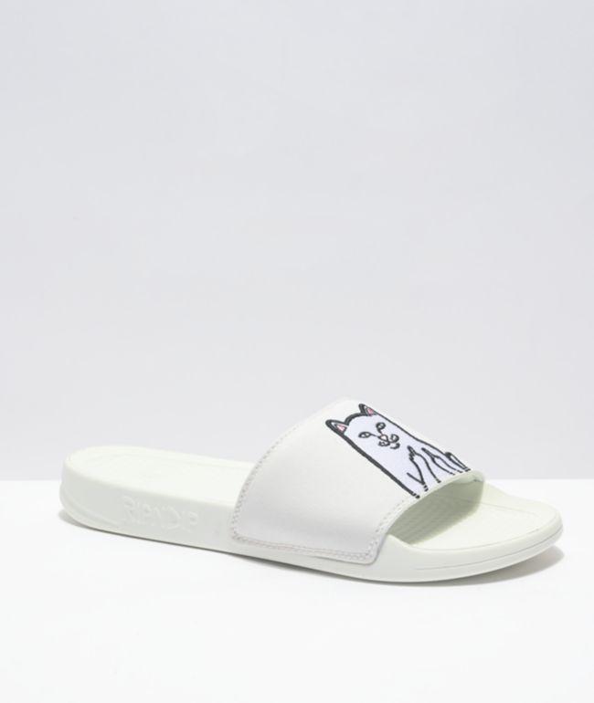 RIPNDIP Lord Nermal UV Blue Slide Sandals