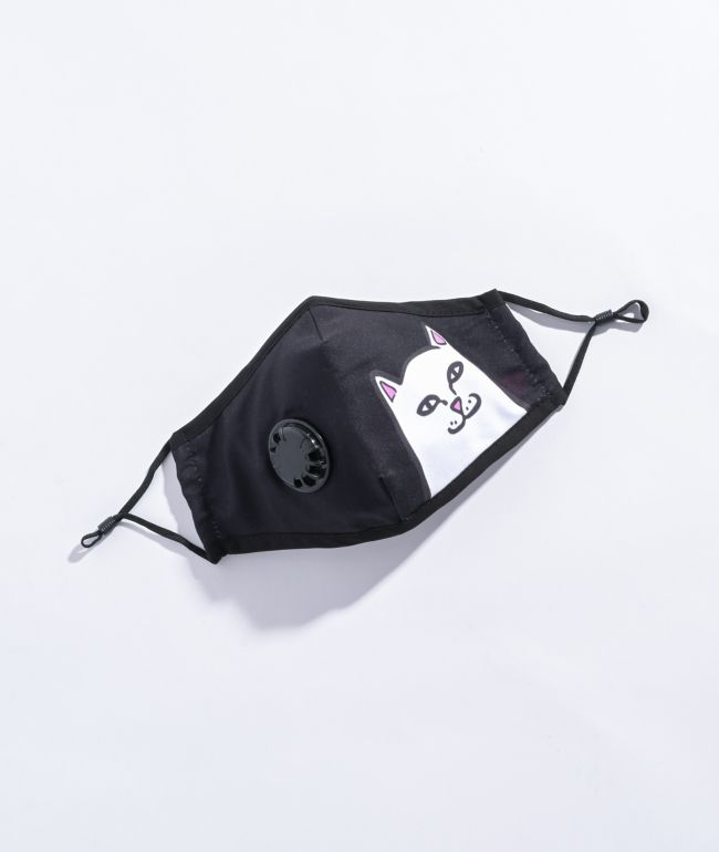 RIPNDIP Lord Nermal Vent Black Face Mask