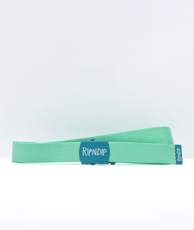 RIPNDIP Mint Logo Belt