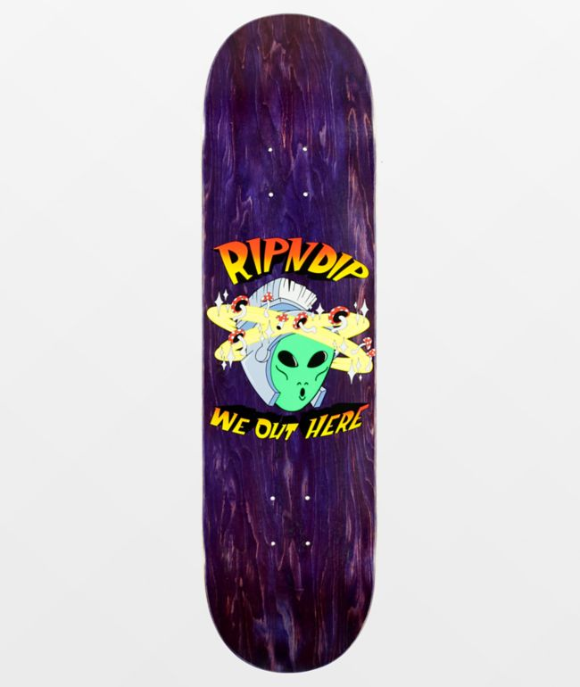 """RIPNDIP Out Of This World 8.25"""" Skateboard Deck"""