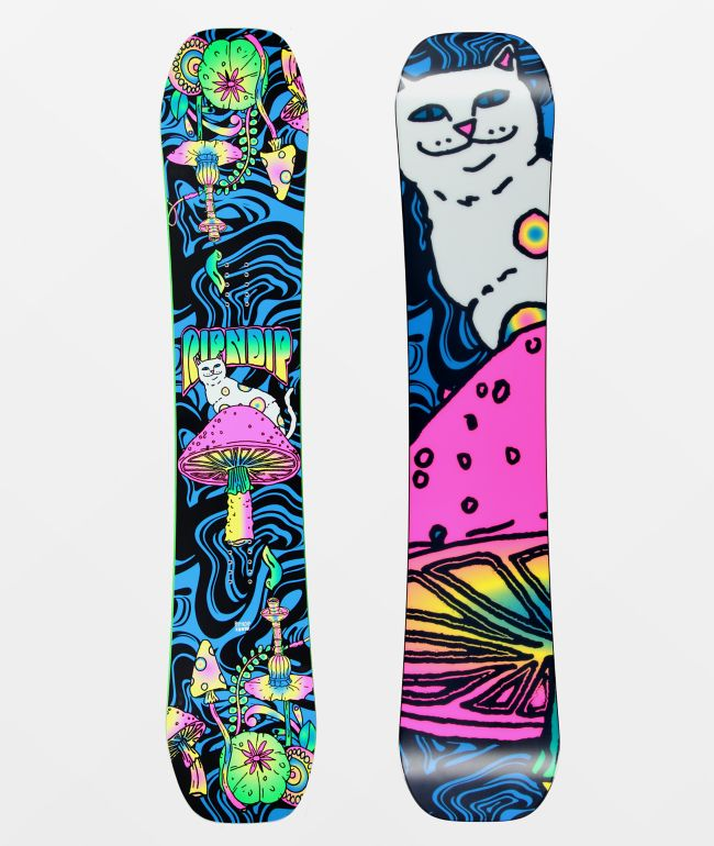 RIPNDIP Psychadelic Snowboard 2021